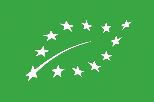 Logo agriculture biologique européen