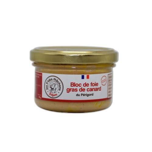 Bloc de foie gras de canard 90g