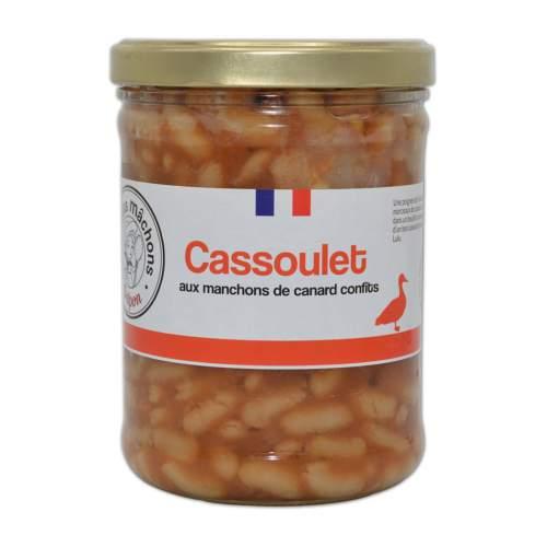 Cassoulet aux manchons de canard confits
