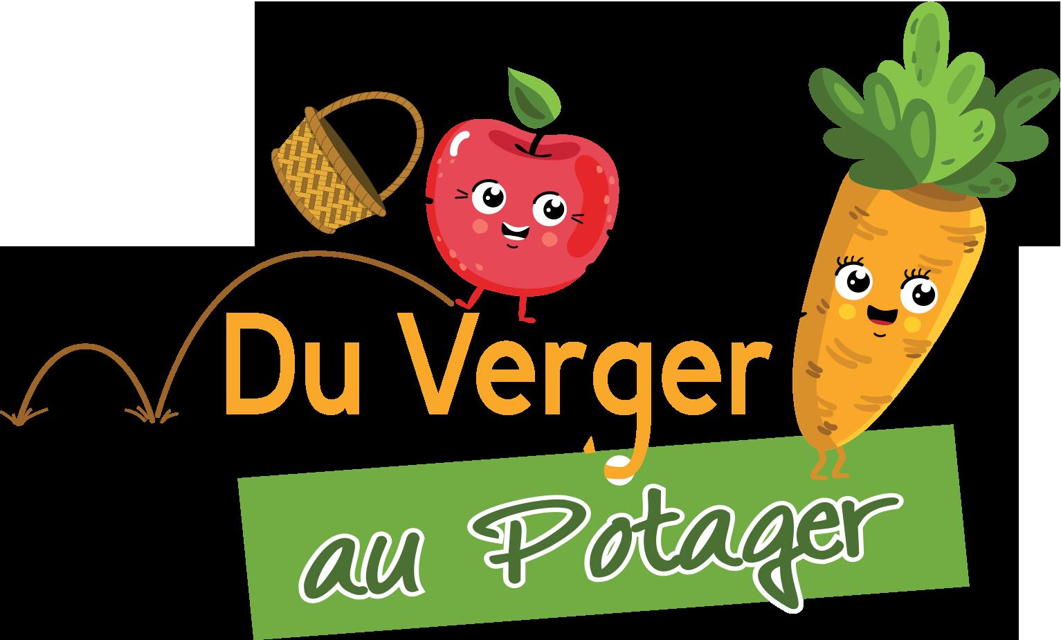 Logo Du Verger au Potager
